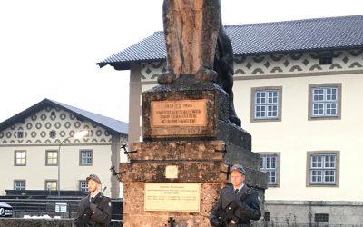 Gedenken zum Volkstrauertag in der Jägerkaserne