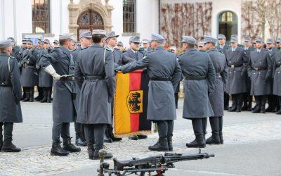Feierliches Gelöbnis in Aschau im Chiemgau