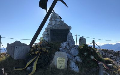 Gedenkfeier der Gebirgstruppe am Untersberg