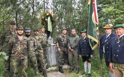 Vor 51Jahre stürzt ein Hubschrauber im Wimbachgries ab, wir gedenken!